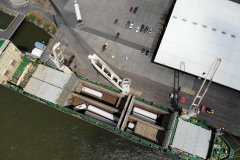 10 sets of Windmill Towers Discharging in Longview