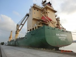 AAL Dampier - Loading Topside Modules Structures in Map Ta Phut, Thailand