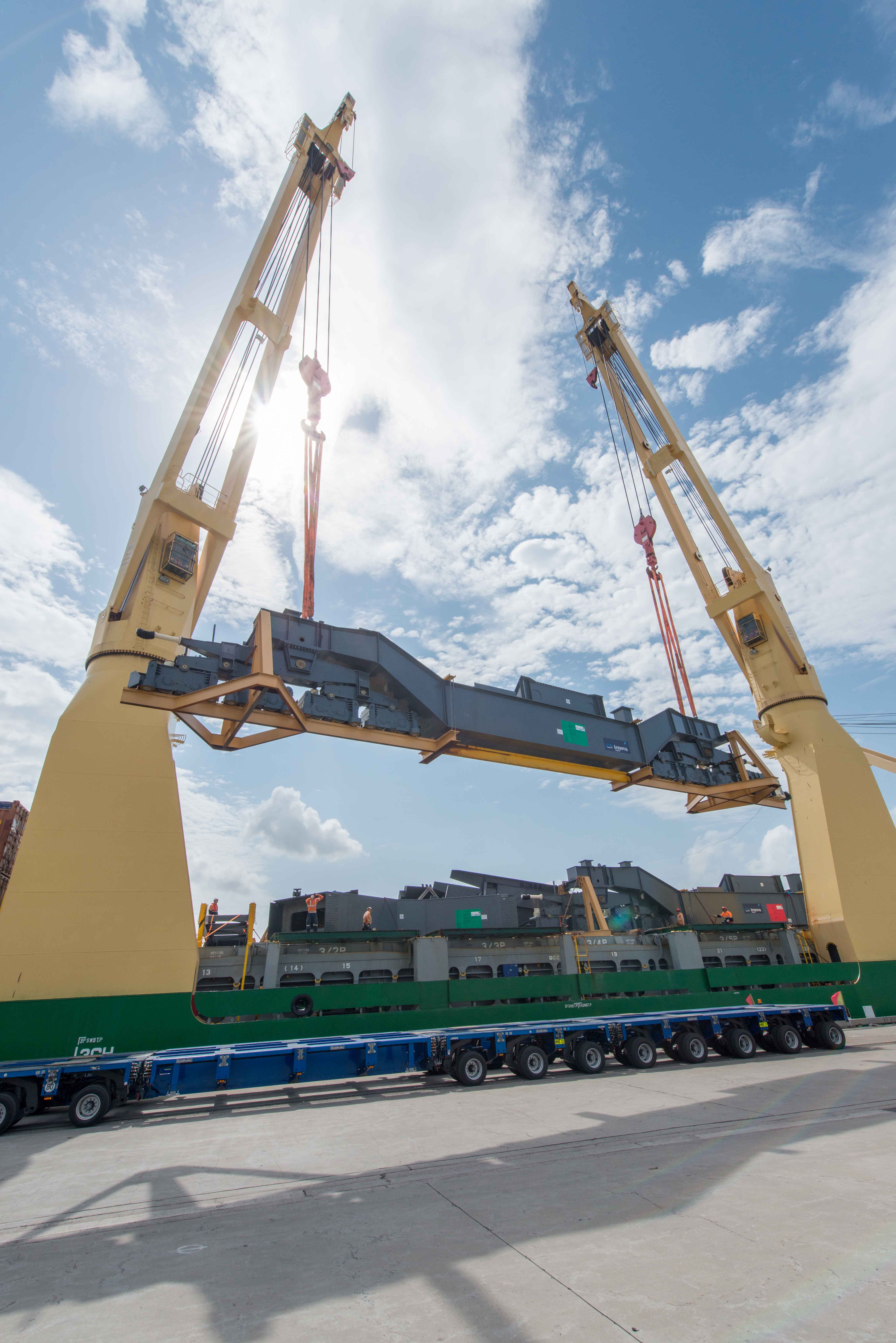 the prospect of hong kongs freight Indirectly, the contribution goes beyond the port into the maritime service cluster  based around the hong kong shipping register, which is the.
