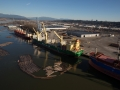 AAL Hong Kong - Loading Logs in Vancouver
