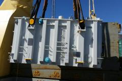 AAL Hongkong - Discharging Transformer in Townsville, Australia from Shanghai, China