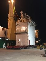 AAL Hongkong - Discharging Transformer in Townsville, Australia from Shanghai, China
