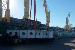 AAL Kobe - Discharging Dragline Centre Pintle in Gladstone