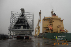 AAL Nanjing - Loading ACC Unit (410MT) in Changshu, China