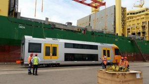 AAL Newcastle - Discharging Rolling Stock in Australia
