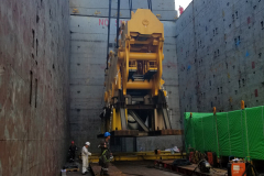 AAL Pusan - Loading 3 Block Units in Zhangzhou, China for Singapore