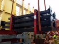 AAL Shanghai - Discharging Structural Steel and Gantry Sections in Melbourne