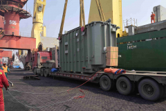 AAL Shanghai - Loading 2 Transformers (100t & 105t) in Rizhao, destined for Melbourne