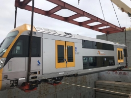 AAL Singapore - Loading Railway Cars and Windmill Blades in China destined for Australia