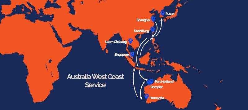 Australia West Coast Service