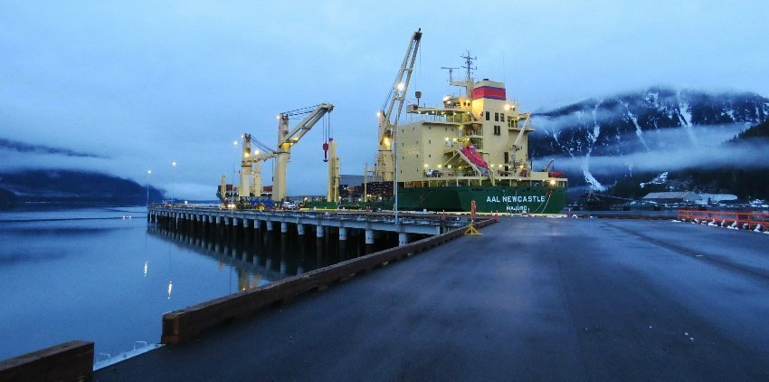 AAL OPENS-UP NORTHERN BRITISH COLUMBIA MULTIPURPOSE TRADE, BY ADDING STEWART WORLD PORT AS AN OPTION ON ITS PACIFIC SERVICE
