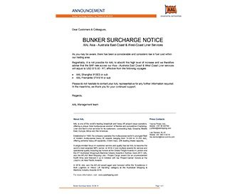 AAL-Bunker-Surcharge-BAF-Announcement - 340x275px