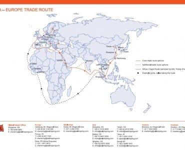 Asia-Europe Trade Route