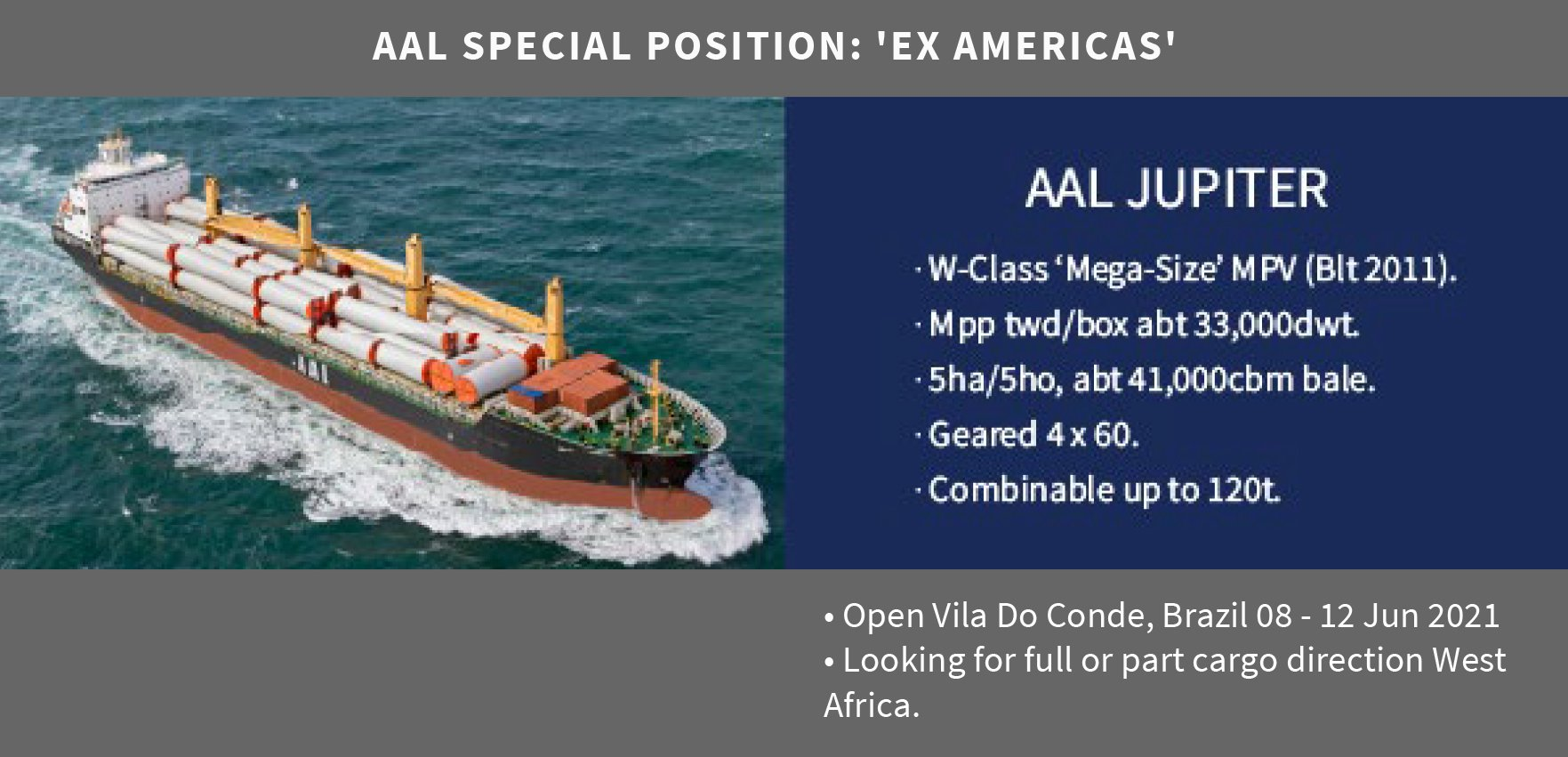 SPECIAL POSITION: 'EX AMERICAS' (04.06.21)