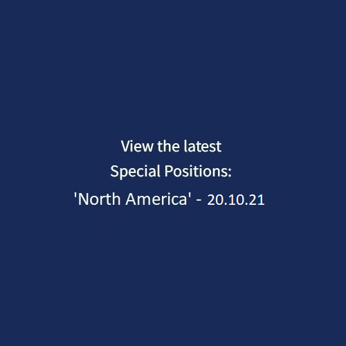 SPECIAL POSITION: 'NORTH AMERICA' (20.10.21)